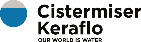 Coloured Cistermiser Keraflo Logo